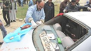 Libia Bengasi 1 frammenti umani