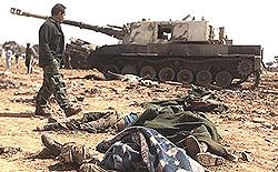Libia armi italiane: tank-obice Palmaria