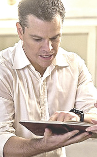Matt Damon nel nuovo film