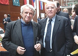 Matvejevic con Gorbaciov