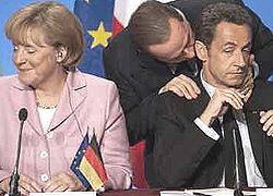 Merkel Berlusconi Sarkozy