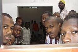 profughi eritrei in Libia