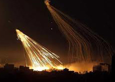 Gaza fosforo bianco