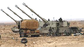 artiglieria libica made in Italy