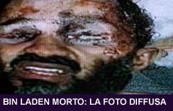 Bin Laden morto la foto diffusa