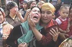 Cina Uiguri repressione Xinjiang