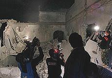 Il bunker di Gheddafi devastato dalle bombe Nato