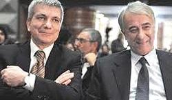 Nichi Vendola con Giuliano Pisapia