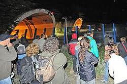 militanti No-Tav a Chiomonte