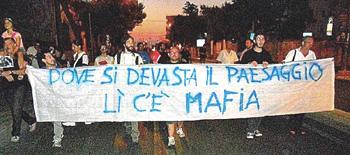 Salento proteste