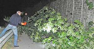Sbarramento a Chiomonte per fermare l'apertura del cantiere