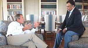 """Il principe Bandar e suo """"fratello"""" George Bush"""