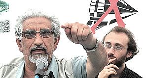 Alberto Perino con Davide Bono