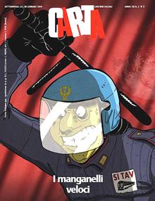 """Una copertina del periodico """"Carta"""""""