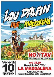 Lou Dalfin in concerto a Chiomonte