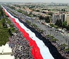 Siria, manifestazione oceanica pro Assad