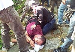 un giovane valsusino ferito dalla polizia