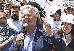 Beppe Grillo a Chiomonte il 3 luglio