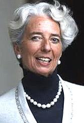 Christine Lagarde, Fmi