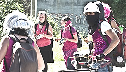 "manifestanti No-Tav a Chiomonte spacciati per ""black bloc"""