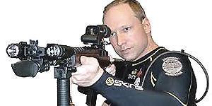 Il killer Anders Behring Breivik
