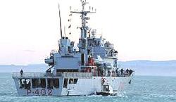 Il pattugliatore Libra della Marina italiana