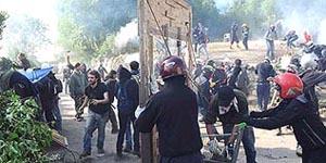 La resistenza dei valsusini a Chiomonte