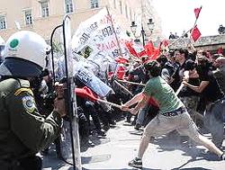 I recenti scontri ad Atene