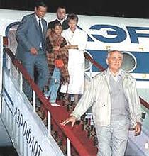 Il rientro di Gorbaciov a Mosca
