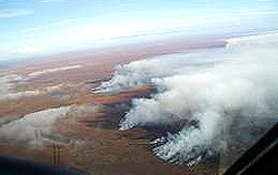 Tundra in fiamme in Alaska