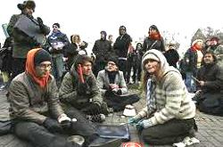 Islanda, sit-in di protesta