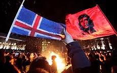 La protesta in Islanda