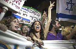 Israele indignados