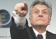 Jean-Claude Trichet della Bce