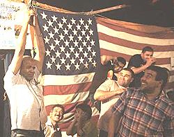 Entusiasmo filo-Usa a Bengasi