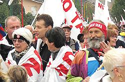 No Tav manifestanti