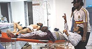 combattenti feriti attorno a Tripoli