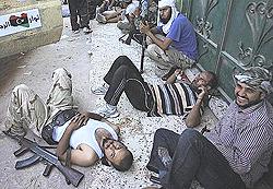 combattenti anti-Gheddafi