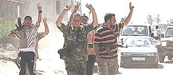 L'avanzata dei ribelli su Tripoli