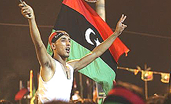 Tripoli, gli insorti esultano
