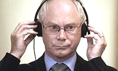 Herman Van Rompuy, presidente Ue