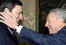 Draghi e Ciampi