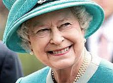 La regina Elisabetta II d'Inghilterra