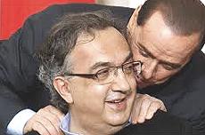 Marchionne e Berlusconi