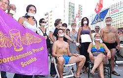 precari, proteste