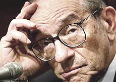 Alan Greenspan, ex presidente della Fed
