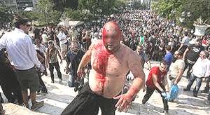 Atene scontri