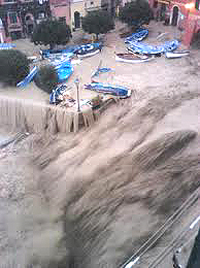 Cinque Terre disastro