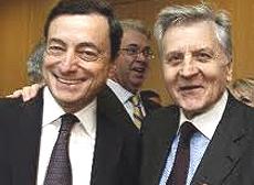 Draghi e Trichet