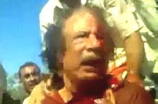 Gheddafi linciaggio
